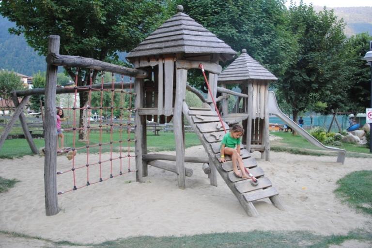 Molveno: il parco giochi dedicato ai più piccoli