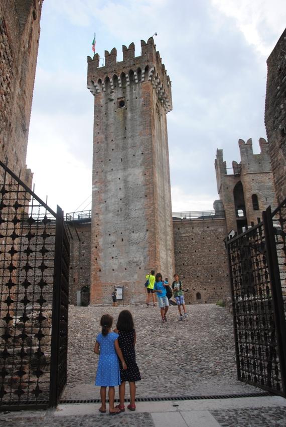 castello di valeggio con bambini