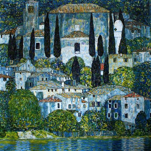 Cassone, nel dipinto di Klimt