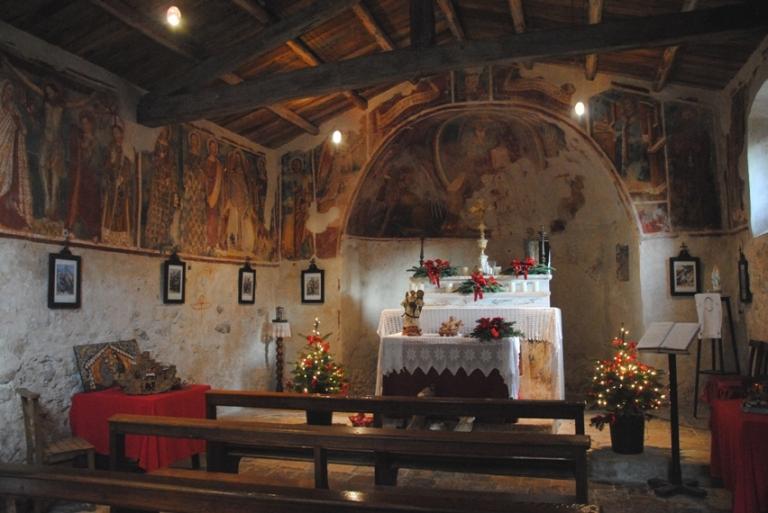 affreschi san pietro in vincoli campo