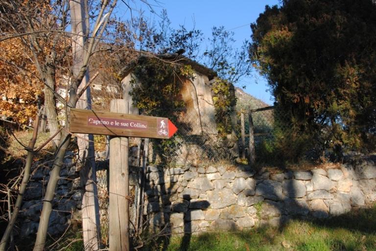 percorso Caprino e le sue colline