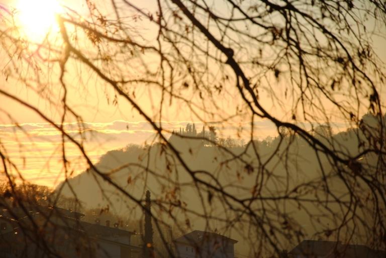 Caprino Terre Rosse al tramonto