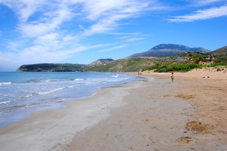 kaminia beach